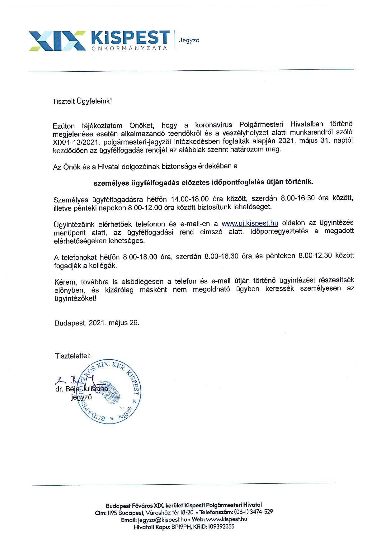 ugyfelfogadas-hivatal20210531