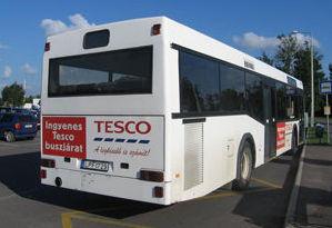 Megszűnt az ingyenes Tesco-busz