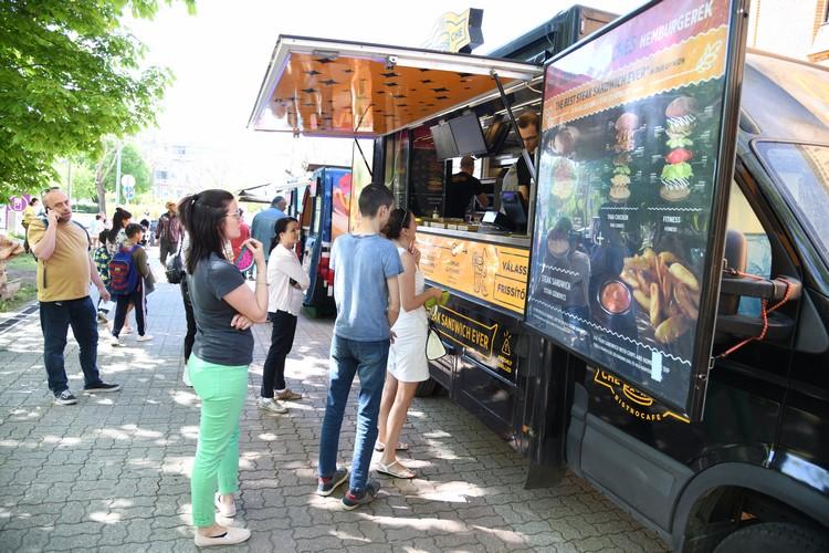 Először volt Street Food Show Kispesten